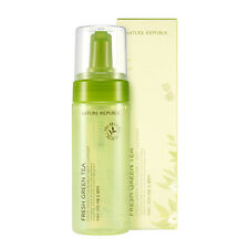 [Nature Republic] Fresh Green Tea Bubble Deep Cleanser 150ml