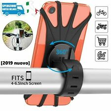 Porta Telefono Cellulare Bici Bicicletta Moto Supporto Smartphone Universale 360