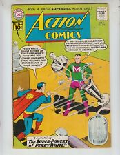 """Action 278 VG+ (4.5) 7/61 """"The Unknown Supergirl!"""" Super Powers of Perry White!"""
