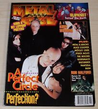 METAL EDGE OCTOBER 2000 KORN DEF LEPPARD SLIPKNOT A PERFECT CIRCLE ROB HALFORD