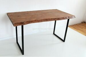 Wooden Handmade Custom Restaurant Table Top Traditional Furniture Home Décor Art