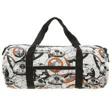 Official Star Wars Episode VII BB-8 Packable Travel Duffle Bag - New Gym Light