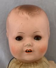 Armand Marseille Am 2542 Antique Baby Doll Pot Bisque /Compo Head Cloth Body 15�