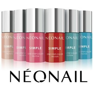 NEONAIL Simple One Step 3in1 UV Hybrid Nail Polish Color Top Base NEW COLOR