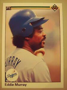 1990 Upper Deck EDDIE MURRAY Baseball Card #277 Los Angeles Dodgers HOF Orioles