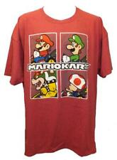 New Mario Kart Mens Sizes 2XL-4XL-5XL Licensed Red Shirt