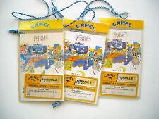 Camel  - 3x   VIP entrances  Belgium GP F1 1993