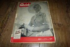Quick 14/1953 Nick Knatterton von Manfred Schmidt