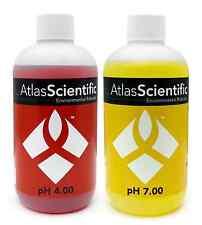 pH Meter Buffer Calibration Solution pH 4 & 7 Probe Test Kit 125ml (4oz)