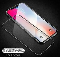For iPhone X 10 3D Curved Full Coverage Tempered Glass Screen Protector