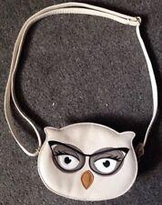 Hombro Bolso Monedero Bolso de Mano Pequeña Mini Noche Correa Zip Up Crema Angry Bird