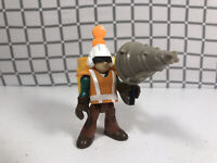 Fisher-Price Imaginext  Adventure City Construction Worker Drill