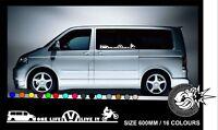 ONE LIFE LIVE IT MOTOCROSS W T5 Car/Window/Van VW VAG  Vinyl Decal Sticker