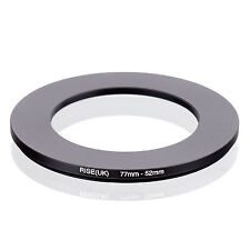 RISE (UK) 77-52MM 77MM-52MM 77 to 52 Step Down Ring Filter Adapter
