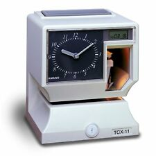 Amano Electronic Time Clock/Recorder. TCX-11