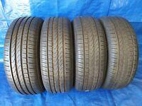 4 x Sommerreifen Reifen PIRELLI Cinturato P7 225 55 R17 97Y DOT 17 RSC *7,5mm*