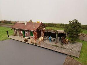Maquette huilerie et atelier Faller ho