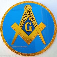 Masonic Link Chain Design  Auto Emblem FreeMasonry Car Lodge Mason Freemason #1