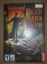 Atari Dead Man's Hand Windows PC CD-ROM, Factory Sealed