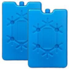 2x Flache Kühlakkus Akku Kühltasche Kühlbox Eisbox Kühlpack Kühlelement Kühlpads