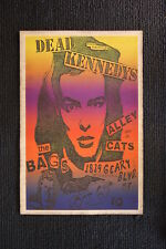 Dead Kennedys 1980 Tour Poster  The Bags,  Alley Cats, San F