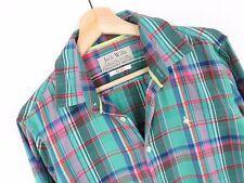 R748 Jack Wills Camicia di flanella maglia originale Premium QUADRI VINTAGE