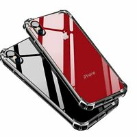 Hybrid Shockproof Thin Clear TPU Bumper Case Fits iPhone