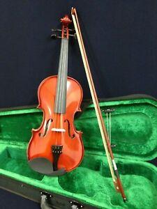 Caraya 1/16 Size Violin + Hard foam case,Bow,Extra String Set,Rosin,Chin-Rest