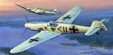 ZVEZDA 7302 - 1/72 WWII DEUTSCHES JAGDFLUGZEUG MESSERSCHMITT BF-109F2 - NEU