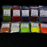 Catskill /& Delaware River Region 20 Color Variety Pack Dry Fly Beaver Dubbing