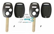 2X Replacement For 2006 2007 2008 Honda Civic EX Si Key Fob Remote Shell Case