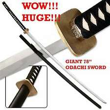 Japanese Nodachi Carbon Steel Giant 78 Inch Full Tang Sword