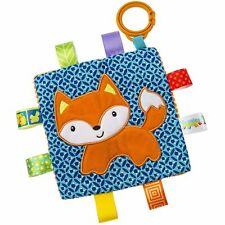 "Mary Meyer Taggies Crinkle Me Fox 6""x6"" Squeaker Baby Toy"