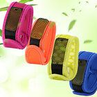 Anti Mosquito Bug Insect Repellent Nylon Bracelet Wrist Band Repellent 4 Refills