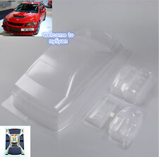 Transparent Car Body Shell& Decal PC201305 For 1/10 RC Car Mitsubishi Lancer