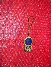 CITY OF NEW YORK POLICE DETECTIVE NYPD BLUE  Metal Keychain  TM & C.1997
