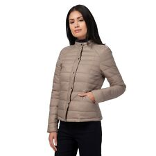 Principles Ben de Lisi Petite Taupe Padded Packaway Jacket Size UK10 LF075 CC 18