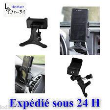 Universel porte téléphone sur aérateur voiture Samsung, SONY, Apple...