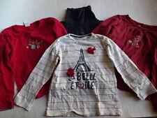ZARA/s.Oliver/CAKEWALKVertbaudet Vier LG Shirts Gr.104-116