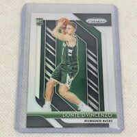 2018-19 Panini Prizm Donte DiVincenzo Silver Rookie Card RC Well Centered Bucks