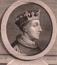 Portrait XVIIIe Henri V d'Angleterre Henry V of England