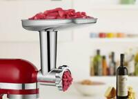 Gvode Stainless Steel Food Grinder Attachment for KitchenAid, Dishwasher Save