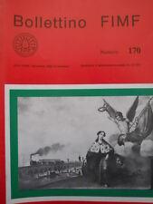 Bollettino treni FIMF n°170 Riproduciamo locomotore FS Gruppo E 326  [TR.33]