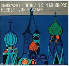 Tchaikovsky: Symphony (Sinfonia) N.5 / Karajan - LP Columbia QCX 10098