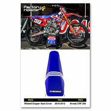 2010-2013 HONDA CRF 250 Troy Lee Designs Adidas SEAT COVER BY Enjoy MFG