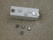 10 Round Carbide Inserts for use with Automotive Brake Lathes