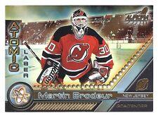 Martin Brodeur,1998-99 Pacific Aurora Atomic Laser Cuts Card, # 12,New Jersey
