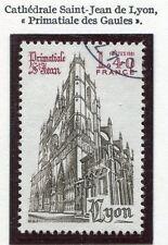 STAMP / TIMBRE FRANCE OBLITERE N° 2132 CATHEDRALE ST. J DE LYON