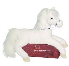 Douglas Toys 16'' Plush WIND SWEPT White HORSE NEW