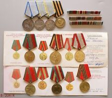 Soviet Rusian order MEDAL FOR BRAVERY, 2 COMBAT SERVICE